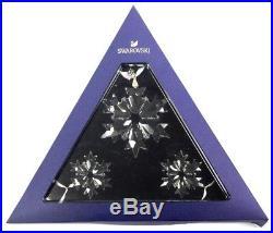 Ornament Set 2018 (annual & 2 Little Snowflakes) Swarovski Crystal 5357983