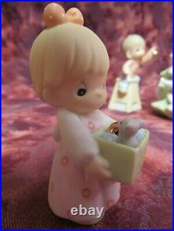 Precious Moments-#634778 CHRISTMAS FAMILY-6 pc. SET-Limited Edition1999 NIB