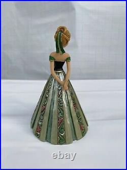 RARE Jim Shore Disney Frozen Anna Castle Dress Figurine 4048661