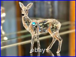 RARE! Swarovski Crystal Figurine DOE DEER #247963 Mint in Box 7608 000 003