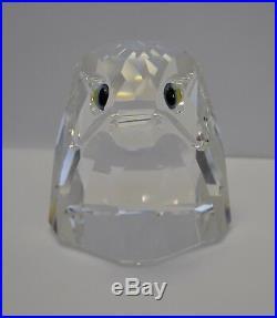 RARE! Swarovski Crystal GIANT Falcon Head 010 064 / 010064 / 7645 100 000 MINT