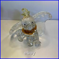 Rare Swarovski Crystal Figurine Disney Collection Dumbo L. E. 2011 1052873