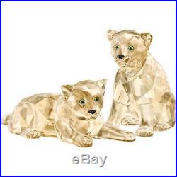 Retired Amur Leopard Cubs Scs 2019 Swarovski Crystal 5428542