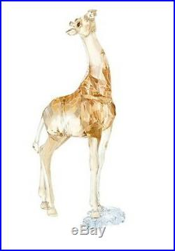 Retired Baby Giraffe Scs 2018 Swarovski Crystal Artist Signed 5302151/5453381