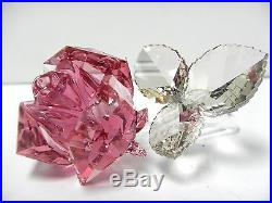 Retired Blossoming Rose, Light Pink Crystal 2014 Swarovski 5094612