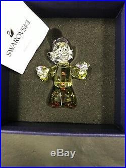 Retired Dopey Dwarf From Disney's Snow White Swarovski Crystal 5428558