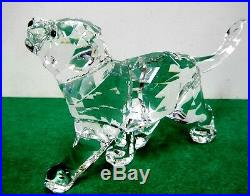 Retired Lion Cub Artist Signed 2013 Swarovski Crystal Figurine 1194148-s
