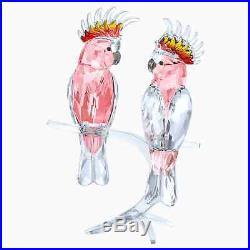 Retired Pink Cockatoos Paradise Birds 2017 Swarovski Crystal 5244651