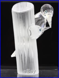 Retired SCS Swarovski Crystal Woodpecker Bird 1988 Annual Edition Figurine RDB