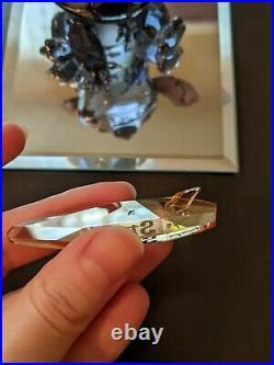 Retired Swarovski Austrian Crystal Stitch Disney 2012 Glass Figurine