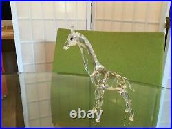 Retired Swarovski Crystal BABY GIRAFFE Figurine #7603NR 000 002 MIB withCOA