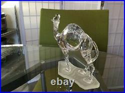 Retired Swarovski Crystal CAMEL Figurine #2476833 MIB withCOA
