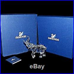 Retired Swarovski Silver Crystal Rare Encounters Elephant Mother Figurine 678945