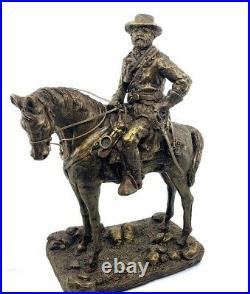 Robert E. Lee Bronze Look Statue 15 H x 11 W