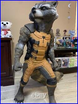 Rocket Raccoon 11 Full-life-size Statue Figure