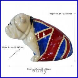Royal Doulton Jack Bulldog Spectre #40015816 Bnib British Flag James Bond F/sh
