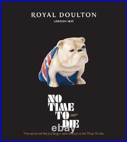 Royal Doulton Jack No Time to Die Spectre BNIB IN STOCK Bulldog James Bond