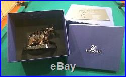 SIGNED By Artist Swarovski SCS Crystal Soulmates Bear 1037053 A 9600 NR 000 143