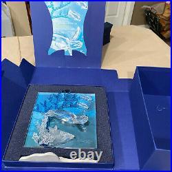SIGNED Swarovski Crystal Wonders of the Sea 2006 ETERNITY Colored COA/ MIB