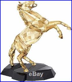 Stallion Golden Shine Crystal Soulmate Horse 2016 Swarovski #5136836