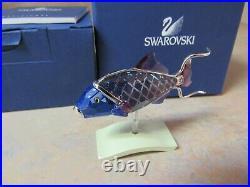 SWAROVSKI 626200 COPORITA AQUAMARINE CRYSTAL TROPICAL FISH WithBOX
