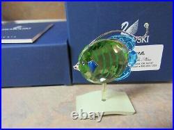 SWAROVSKI 626204 CHIRA PERIDOT CRYSTAL TROPICAL FISH WithBOX