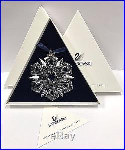 Swarovski Crystal 1999 Snowflake Star Annual Christmas ...