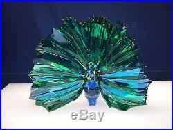 Swarovski Crystal 2015 Scs Peacock Arya 5063694 & White Peacock 5063695 New