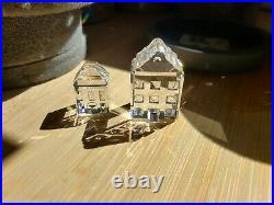 SWAROVSKI CRYSTAL CITY BUILDING LOT 10 pieces With box