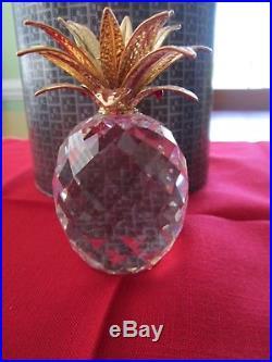 SWAROVSKI CRYSTAL LOT OF 9 Vintage & retired, Animals, Pineapple, bell & box