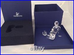 SWAROVSKI CRYSTAL MERMAID WithORIGINAL BOX #827603 RETIRED lot106