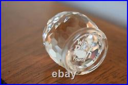 SWAROVSKI CRYSTAL SET of 4 Winnie the Pooh Honey Pot Piglet Eeore Tigger 905768