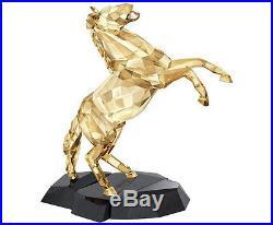 Swarovski Crystal Soulmates Stallion Golden Shine. New In Box