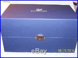 Swarovski Crystal The Buffalo Figurine New In Box Retired 7685nr000003
