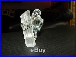 Swarovski Crystal Woodpeckers- Closed Mint -comes With Original Box /coa