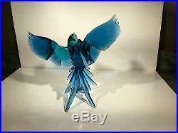 SWAROVSKI Crystal BLUE PARROTS Birds Of Paradise (5136775)Signed NIB