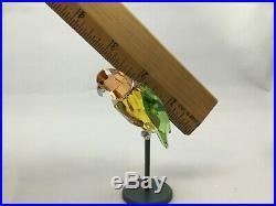 SWAROVSKI Crystal Bird Paradise BEBOTTO 275574 YellowOrangeGreen Stunning! BiP10