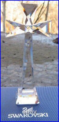 SWAROVSKI Crystal Brilliant Cross figurine (#5374473) New in Box