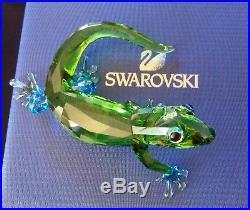 SWAROVSKI Crystal Figurine 2017 GECKO