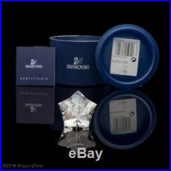 SWAROVSKI Crystal Figurine PETER PAN Disney 1077772 + Plaque
