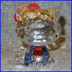 SWAROVSKI Crystal HELLO KITTY RED BOW #5135946 Retired 2017 Mint NIB COA Fr/SHIP