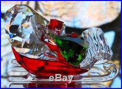 SWAROVSKI Crystal Santas Sleigh Figurine #5403203 New in Box
