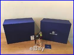 SWAROVSKI Crystal TOUCAN Black Diamond #850600 MINT with Original Box & COA