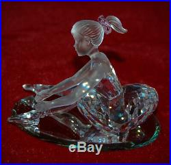 SWAROVSKI Crystal YOUNG BALLERINA When We Were Young Theme In Original Box+COA