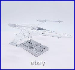 SWAROVSKI Disney Star Wars X-Wing Starfighter Crystal Figurine Display 5506805