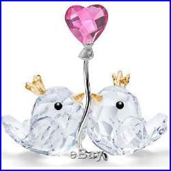 SWAROVSKI LOVE BIRDS PINK HEART 5492226 New 2020 CRYSTAL
