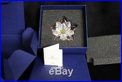 SWAROVSKI RARE ROSALINE CRYSTAL FLOWER Waterlily 1141674 New In Box