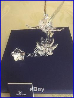 Swarovski Retired Tinkerbell With Plaque New In Box