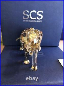 SWAROVSKI SCS Annual Edition 2013 Elephant Cinta crystal figurines