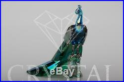 SWAROVSKI SCS Figurine 2013 Peacock 1142861 / 1145553